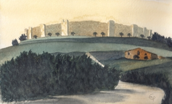 Monteriggioni_castle
