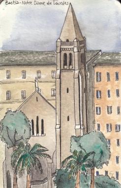 Notre Dame De Lourdes Bastia
